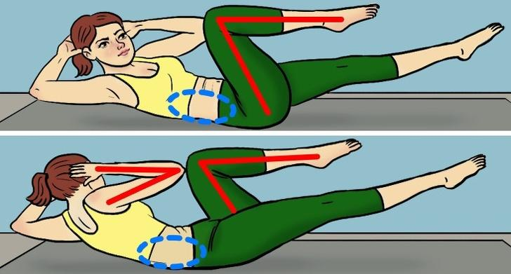 bài tập thể dục đốt cháy mở bụng