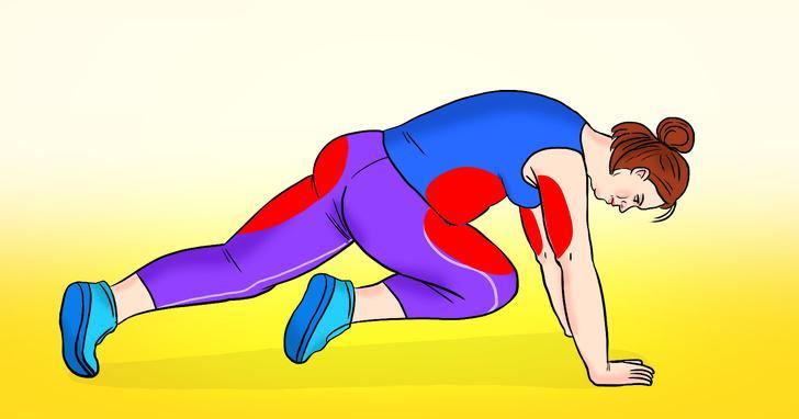 Bài tập thể dục đốt cháy mỡ bụng