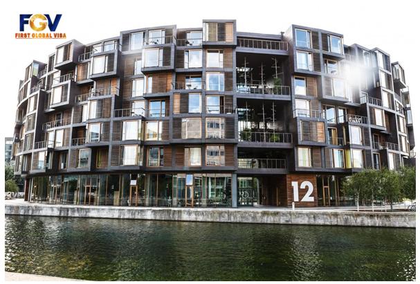 Khu nhà Tietgen, Đan Mạch