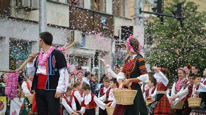 Lễ hội hoa hồng Bulgaria