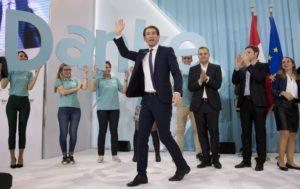 Tổng thống áo Sebastian Kurz
