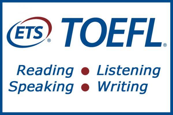 Một kỳ thi Toefl bao gồm 4 kỹ năng: nghe, nói, đọc viết