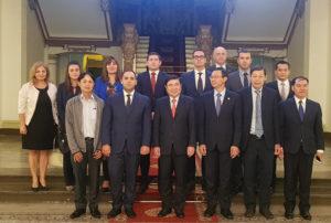 Phái đoàn Bulgaria cùng các quan chức TP.HCM