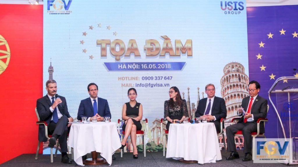 First Global Visa thường xuyên tổ chức các buổi tọa đàm và sự kiện