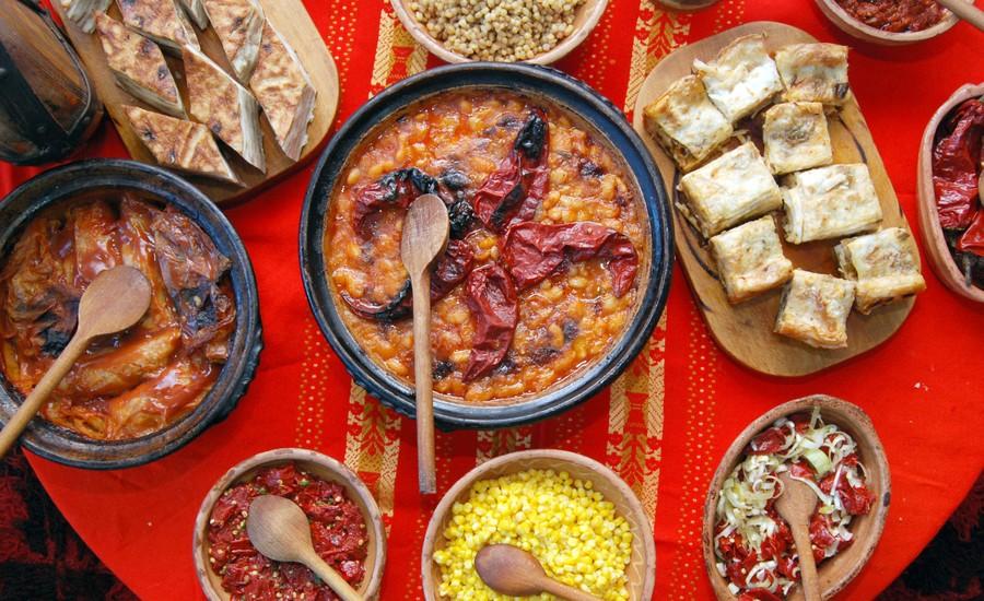 Các món ăn vô cùng hấp dẫn ở Bulgaria