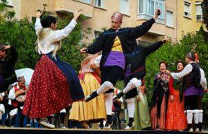 Điệu nhảy Fandango truyền thống của người Bồ Đào Nha