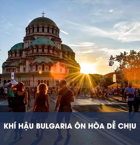 Một góc đường ở Bulgaria