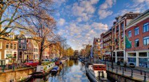 Thành phố Amsterdam của Châu Âu