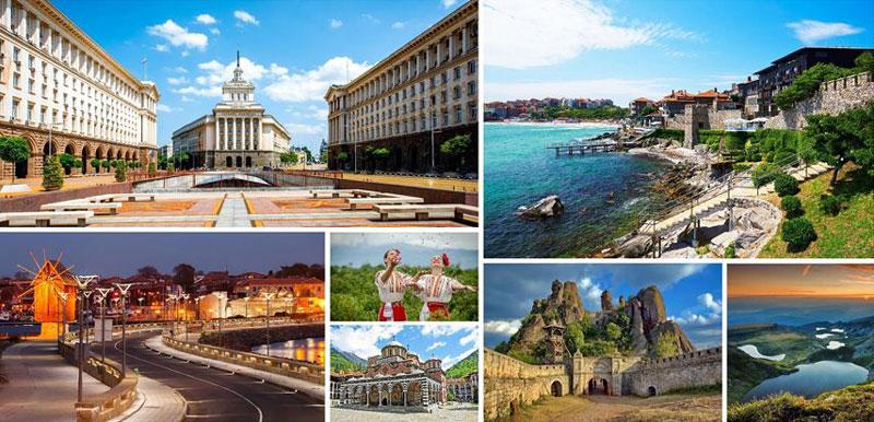 Cảnh quan xinh đẹp ở Bulgaria