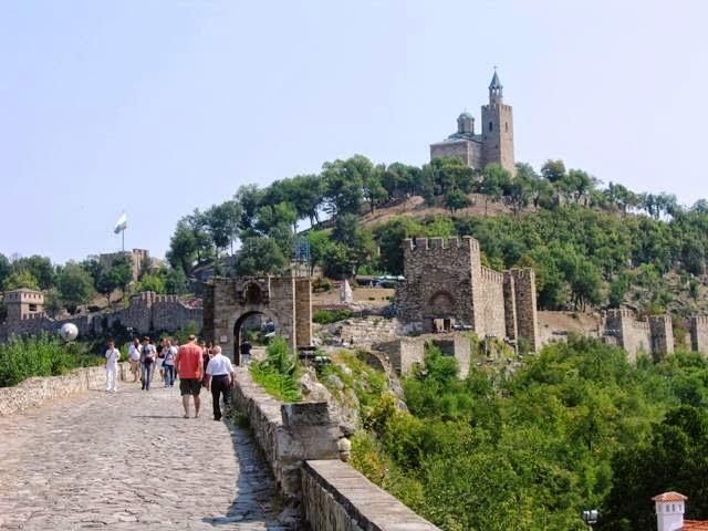 Veliko Tarnovo tại trung tâm Bulgaria