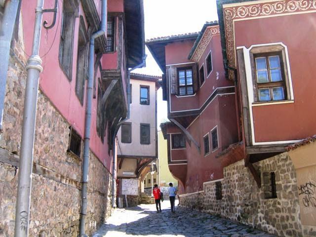 Khu phố cổ Plovdiv tại Bulgaria