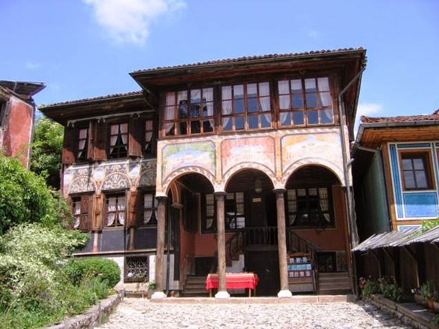 Ngôi làng ở Koprivshtitsa, thủ đô Sofia