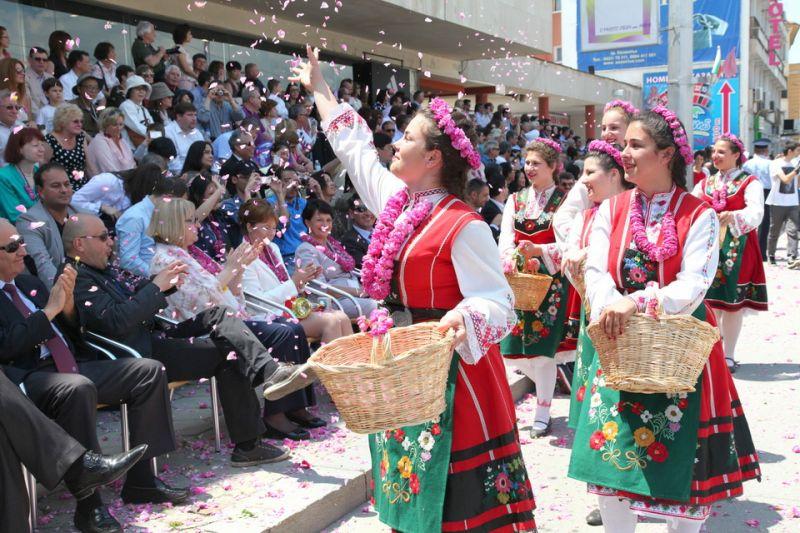 Lễ hội hoa hồng ở Bulgaria