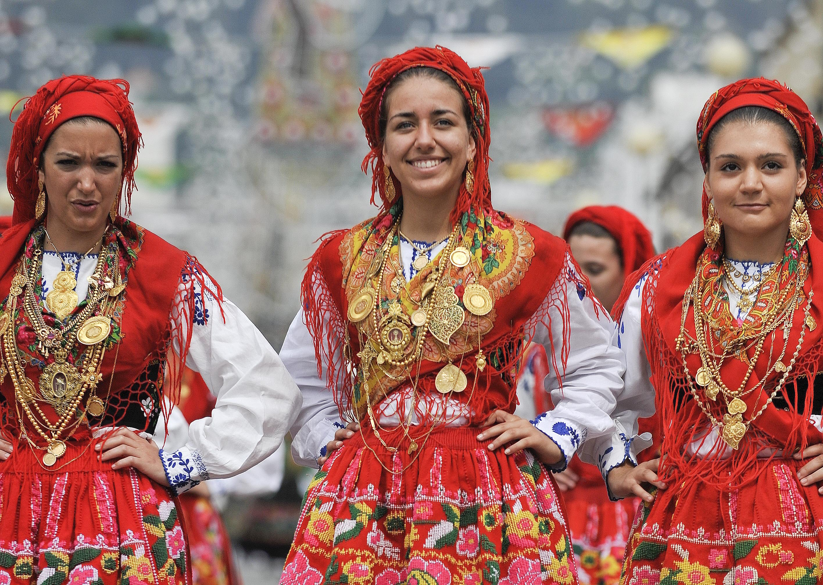 Trang phục độc đáo của người Bồ Đào Nha
