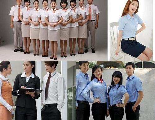 Các loại đồng phục công sở