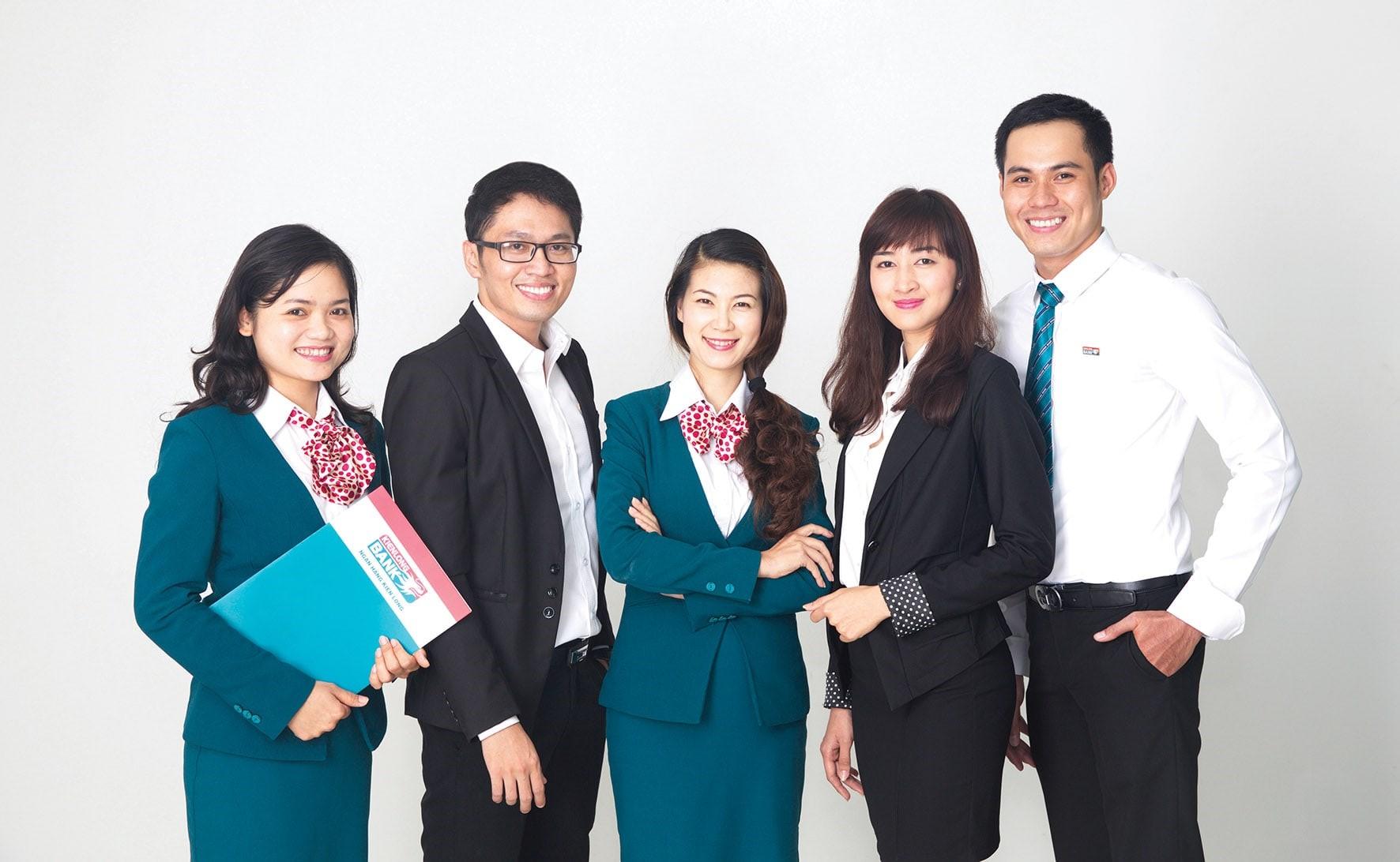 Đồng phục ngân hàng Kiên Long