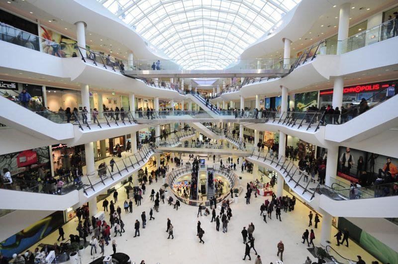Paradise Center là một trong số các trung tâm mua sắm hoành tráng nhất tại Sofia của Bulgaria