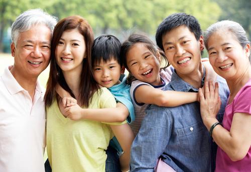 Hình ảnh về gia đình công dân Hoa Kỳ