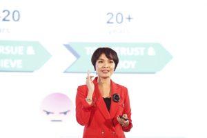 Bà Thanh Nguyễn - Giám đốc Điều hành và Truyền cảm hứng hạnh phúc của Anphabe