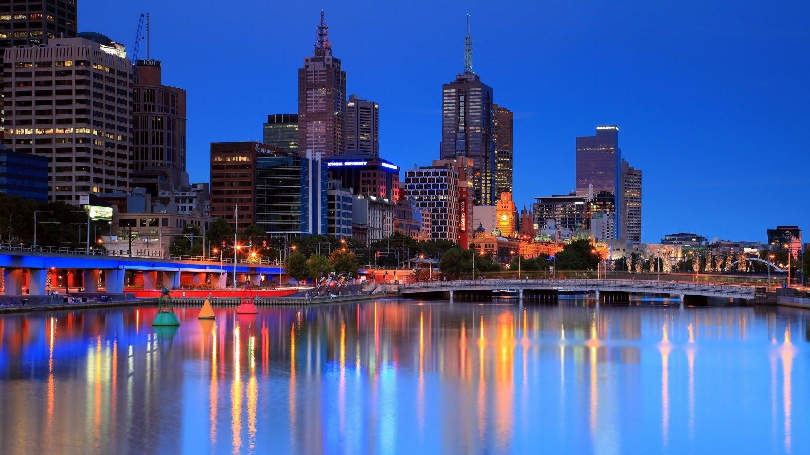 Thành phố Melbourne quyến rũ