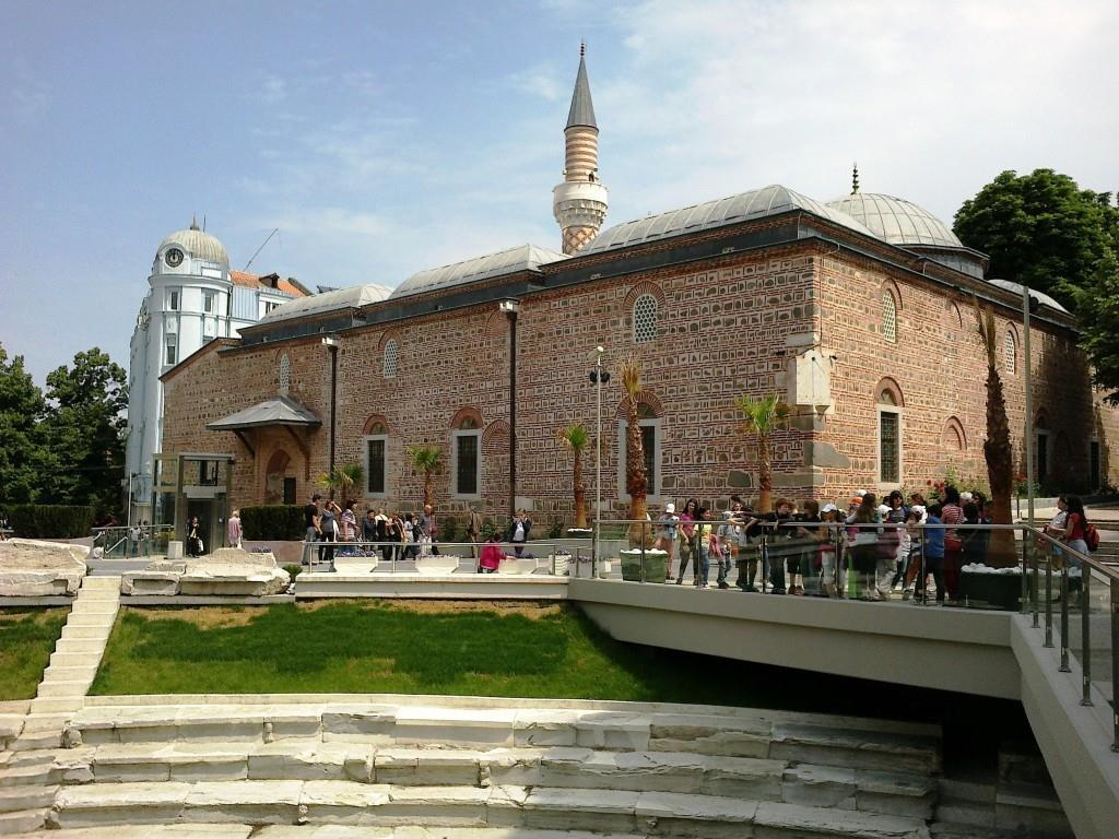Dzuhumaya là nhà thờ Hồi giáo duy nhất còn sót lại ở Plovdiv.