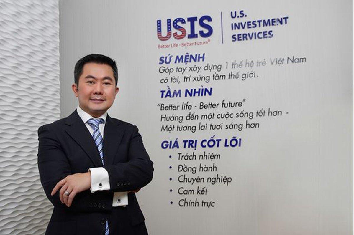 Chris Lộc Đào- chủ tịch Usis Group