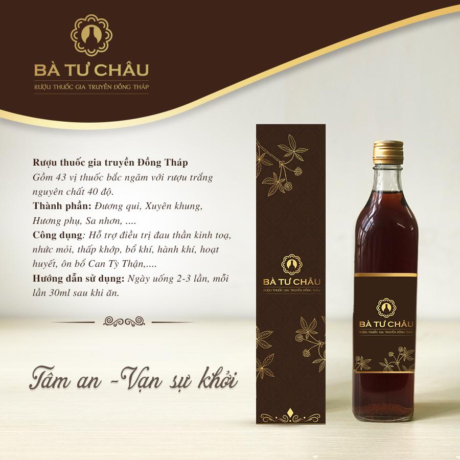 Rượu Bà Tư Châu