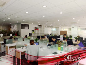Dịch vụ coworking space của Office168