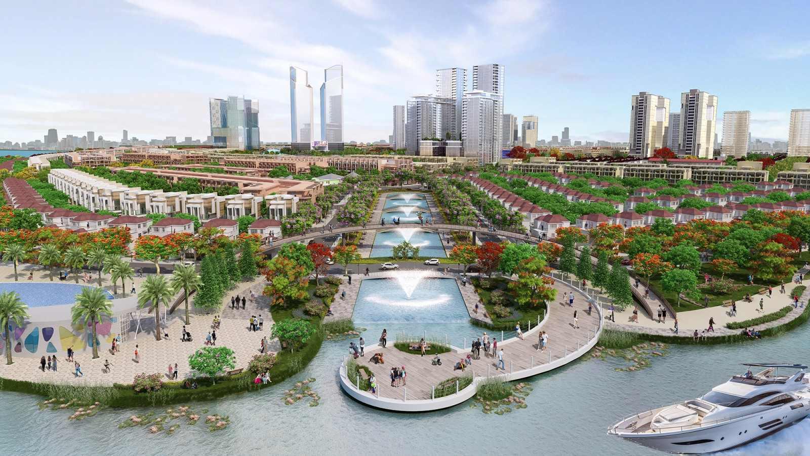 khu đô thị sinh thái hiện đại