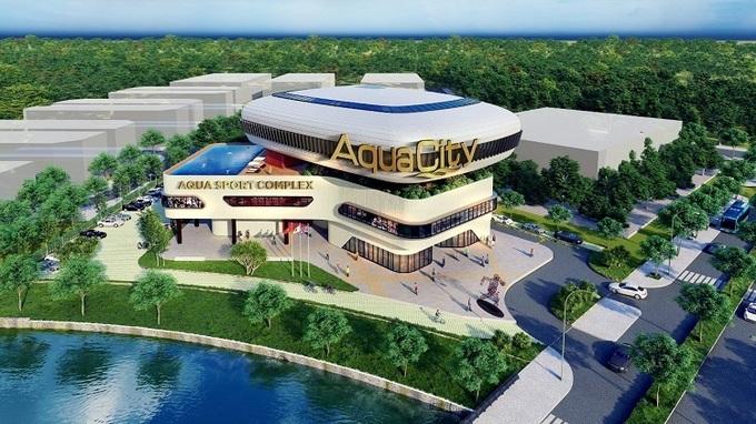 khu đô thị sinh thái hiện đại aqua city