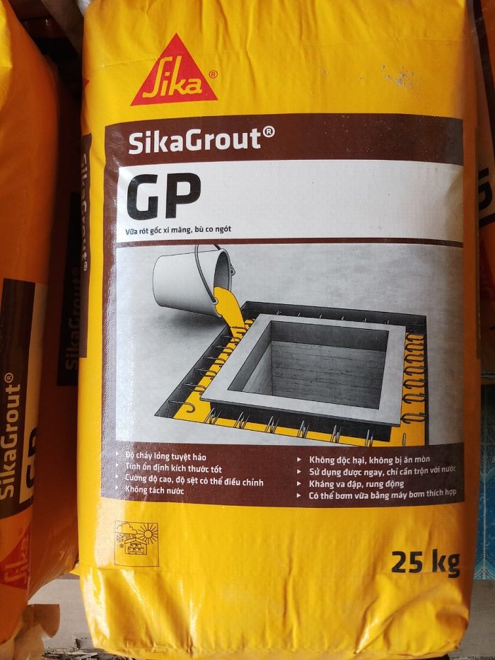 sản phẩm sika grout