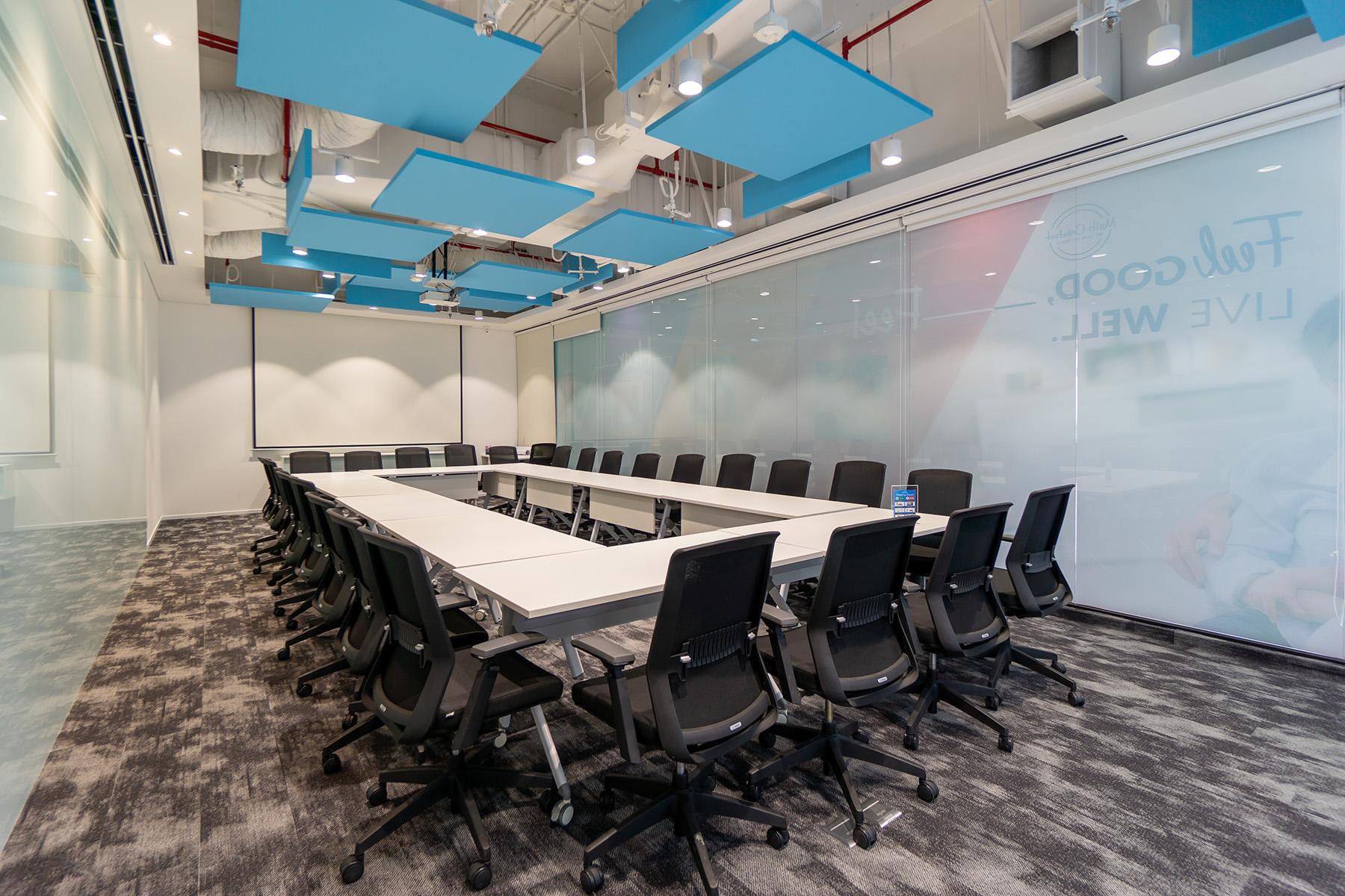thiết kế văn phòng hiện đại tập trung