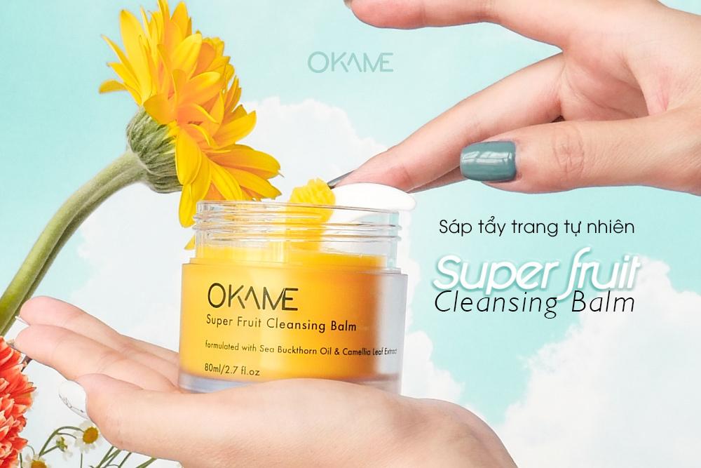 Sáp tẩy trang Okame Camellia Cleansing Balm