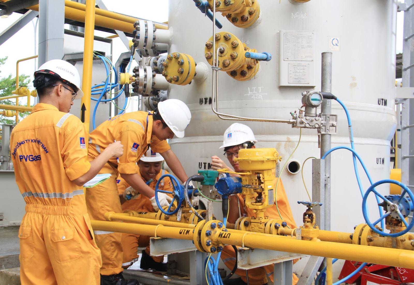 Bảo dưỡng công trình khí